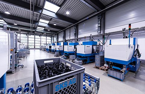 Injection moulding & series production